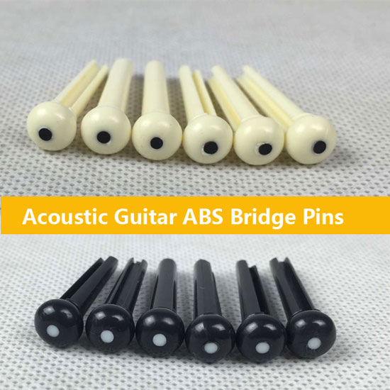ABS Bridge Pins for Acoustic Guitar